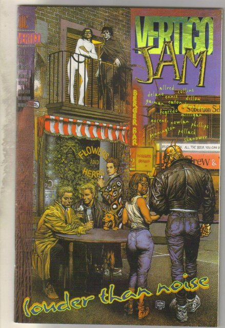 Vertigo Jam #1 comic book near mint 9.4