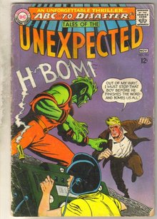 Tales of the Unexpected #103 comic book fair 1.5