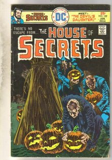 House of Secrets #139 comic book very good 4.0