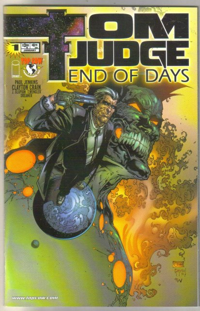 Tom Judge End of Days #1 comic book mint 9.8