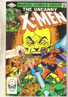 Uncanny X-men #181 comic book very fine 8.0