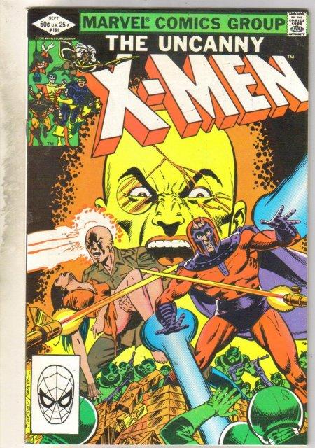Uncanny X-men #181 comic book very fine 8.0