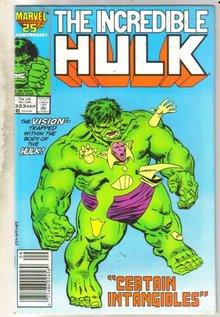 Incredible Hulk #323 comic book very good 4.0