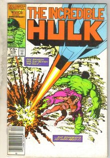 Incredible Hulk #318 comic book fine 6.0