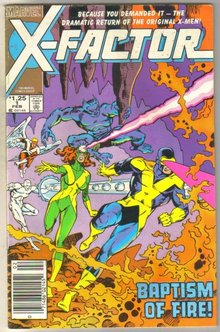 X-Factor #1 comic book fine 6.0