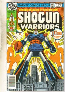 Shogun Warriors #1 comic book very good/fine 5.0