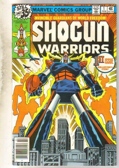 Shogun Warriors #1 comic book very good/fine 5.0