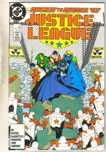 Justice League #3 comic book near mint 9.4