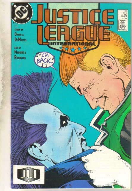 Justice League #19 comic book near mint 9.4