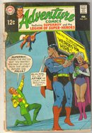 Adventure Comics #377 comic book good/very good 3.0