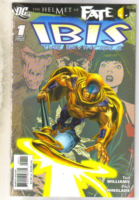 Helmet of Fate Ibis The Invincible #1 comic book mint 9.8