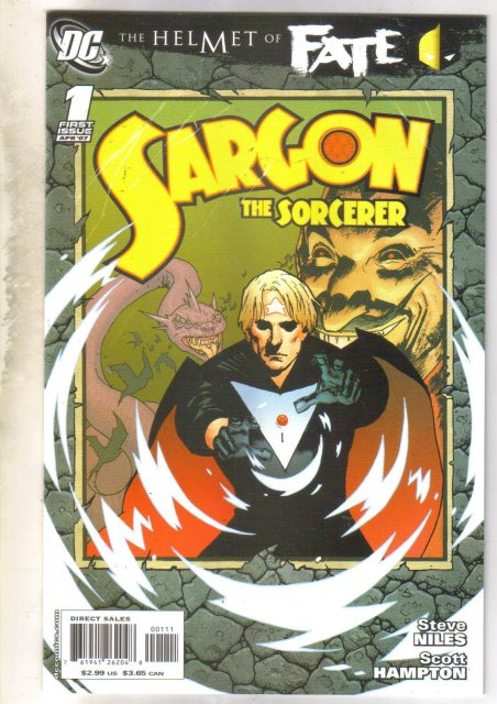 Helmet of Fate Sargon the Sorcerer #1 comic book mint 9.8