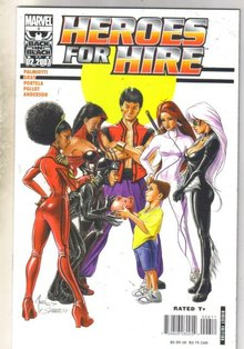 Heroes For Hire #6 comic book mint 9.8