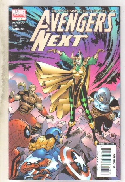 Avengers Next #5 comic book mint 9.8