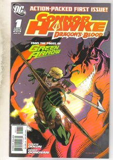 Connor Hawke Dragon's Blood #1 comic book mint 9.8