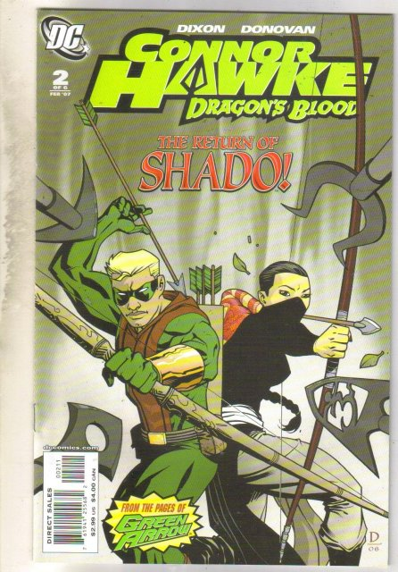 Connor Hawke Dragon's Blood #2 comic book mint 9.8