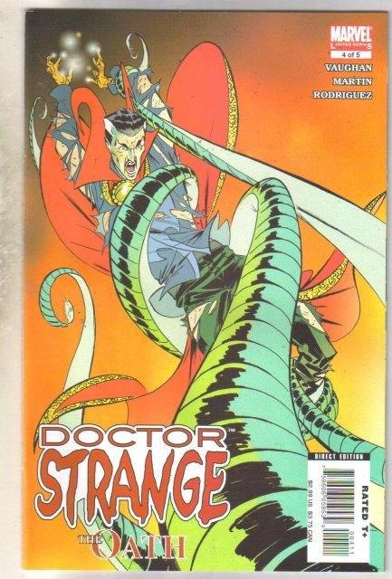 Doctor Strange The Oath #4 comic book mint 9.8