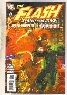 The Flash #8 comic book near mint 9.4