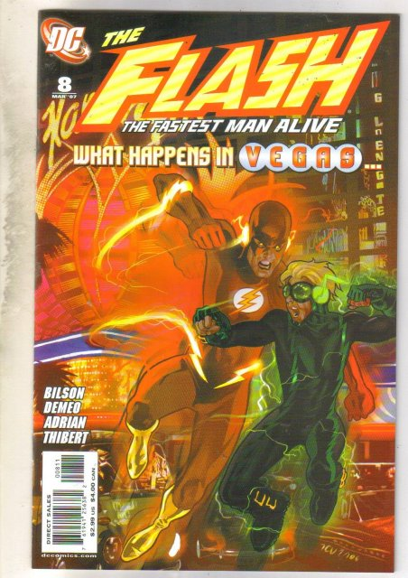 The Flash #8 comic book near mint 9.4