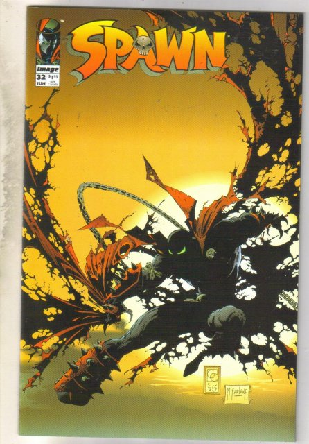 Spawn #32 comic book mint 9.8