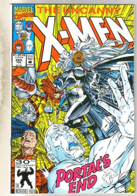 Uncanny X-Men #285 comic book mint 9.8