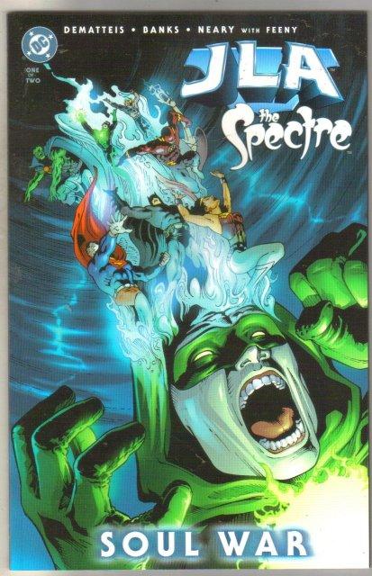 JLA/Spectre : Soul War #1 comic book mint 9.8