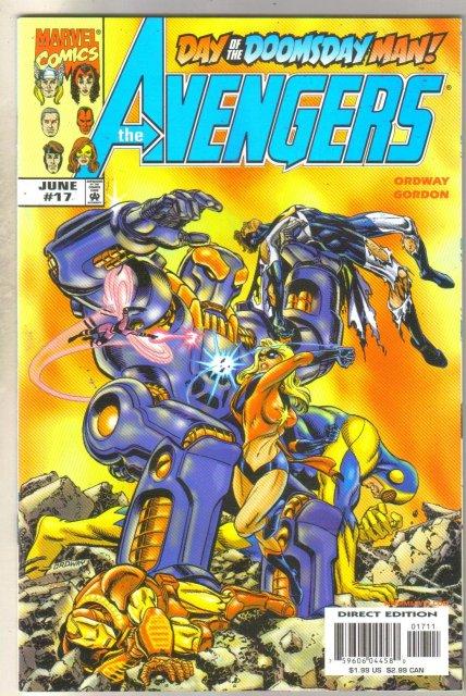 Avengers #17 comic book mint 9.8