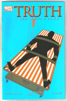 Truth Red, White, and Black #3 comic book mint 9.8