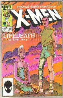 Uncanny X-men #186 comic book mint 9.8