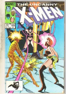 Uncanny X-men #189 comic book near mint 9.4