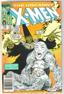 Uncanny X-men #190 comic book near mint 9.4