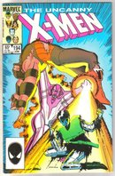 Uncanny X-men #194 comic book near mint 9.4