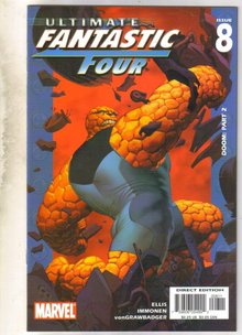 Ultimate Fantastic Four #8 comic book mint 9.8
