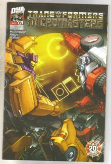Transformers Micromasters #1 comic book near mint 9.4
