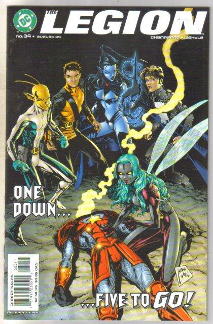 Legion #34 comic book mint 9.8