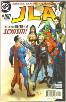 JLA #100 comic book mint 9.8