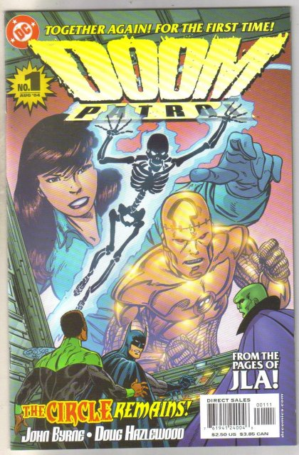 Doom Patrol #1 comic book mint 9.8