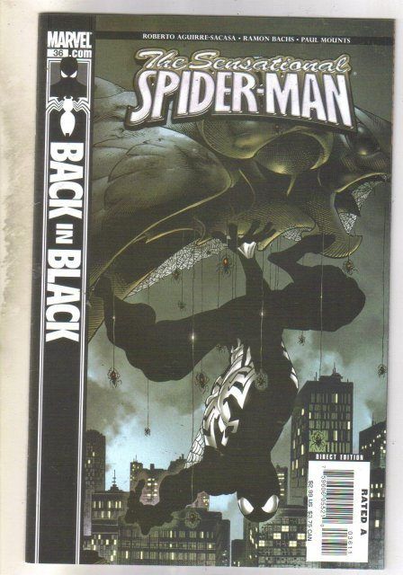 Sensational Spider-man #36 comic book mint 9.8