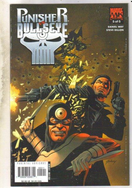 Punisher vs. Bullseye #5 comic book near mint 9.4