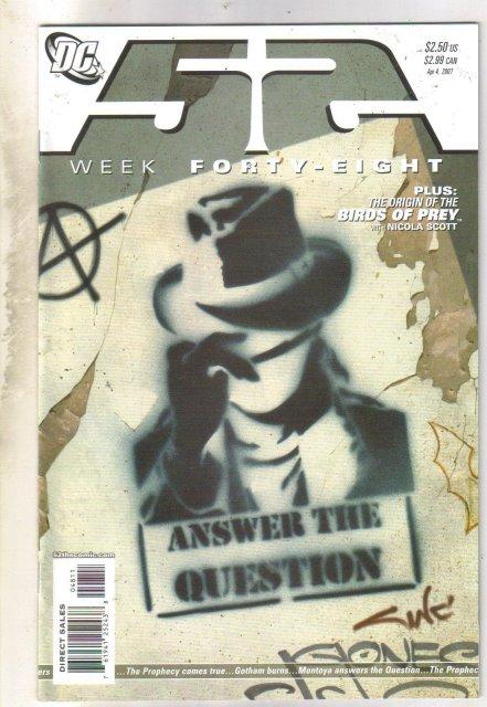 52 Week #48 (Question) comic book mint 9.8