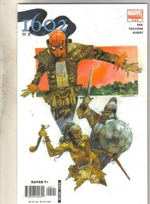 Marvel 1602 New World #5 comic book near mint 9.4