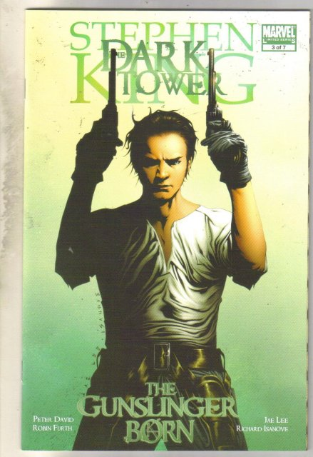 Stephen King The Dark Tower Gunslinger Born #3 comic book mint 9.8