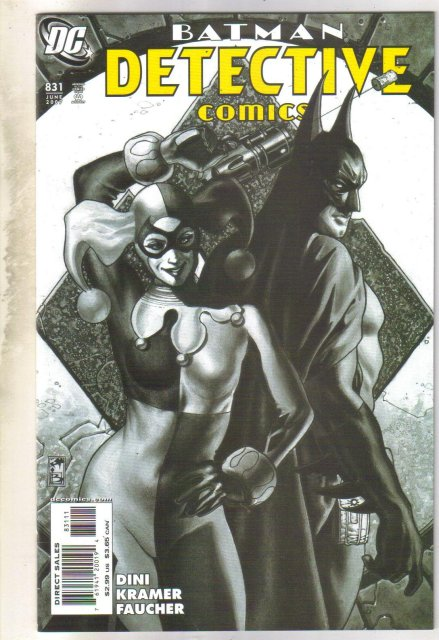 Detective Comics #831 with Harlequin comic book mint 9.8