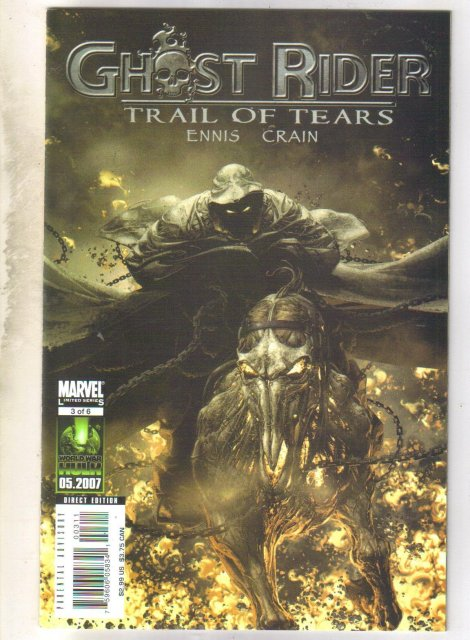 Ghost Rider Trail of Tears #3 comic book mint 9.8