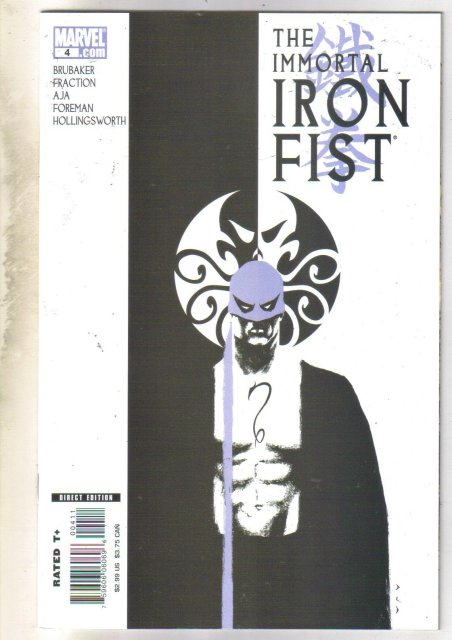 Immortal Iron Fist #4 comic book mint 9.8