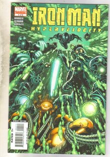 Iron Man Hypervelocity #4 comic book near mint 9.4