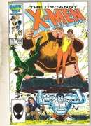 Uncanny X-men #206 comic book near mint 9.4
