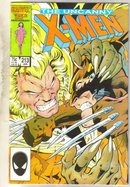 Uncanny X-men #213 comic book very fine 8.0