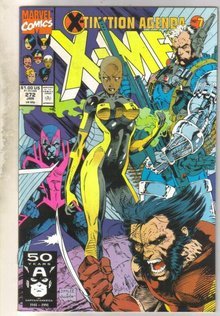 Uncanny X-men #272 comic book near mint 9.4