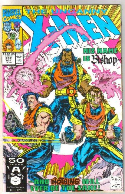 Uncanny X-men #282 comic book near mint 9.4
